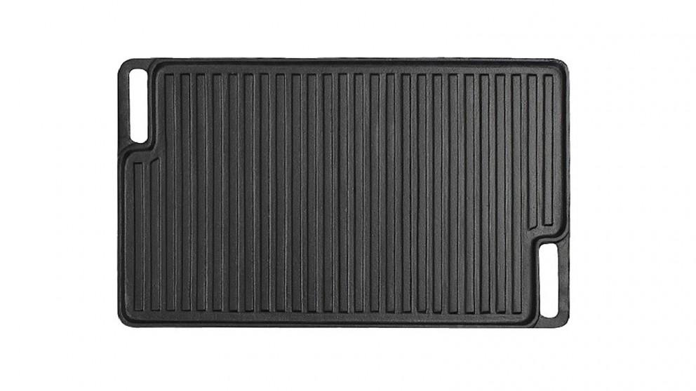 Soga 45cm Cast Iron Grill Plate
