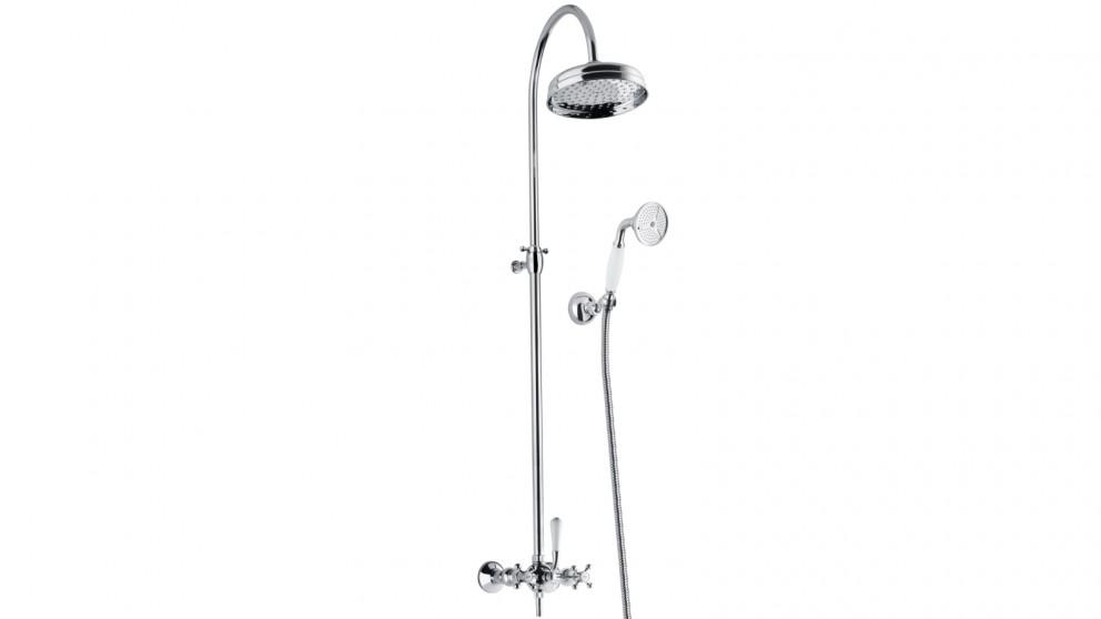 Armando Vicario Provincial Overhead Shower with Hand Shower - Chrome
