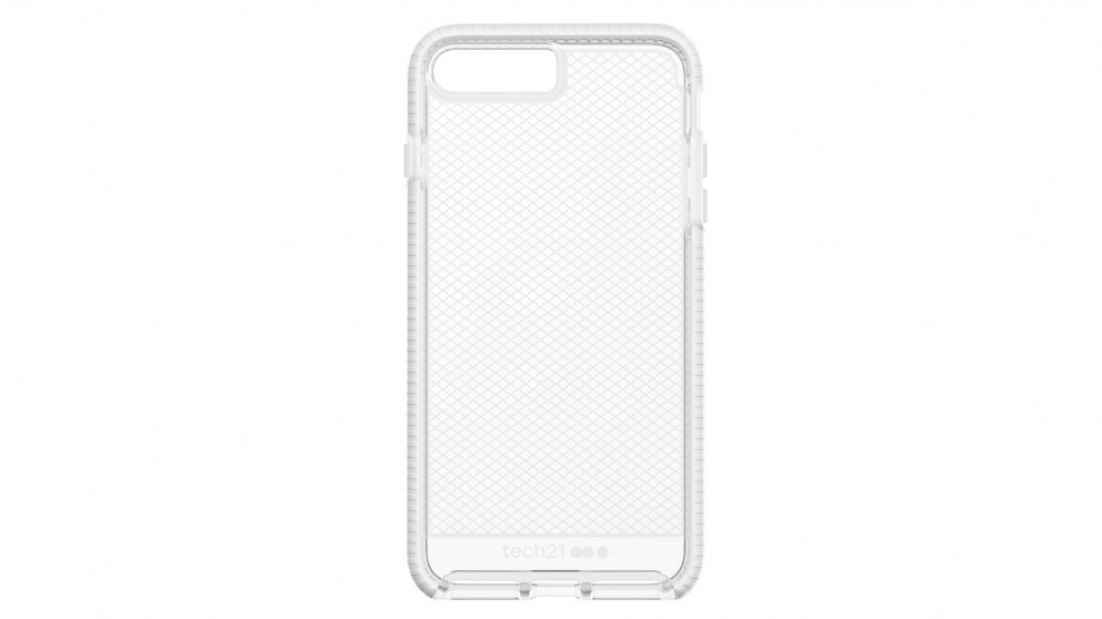 Tech21 Evo Check Case for iPhone 8 Plus - Clear White