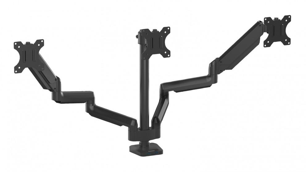 Fellowes Platinum Series Monitor Arm - Triple