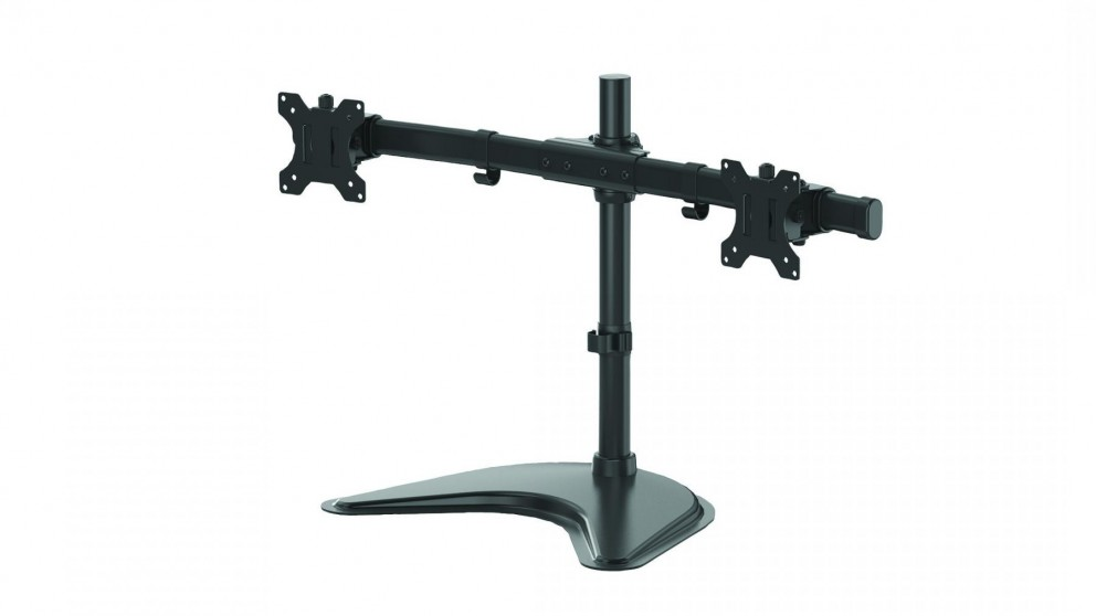 Fellowes Professional Series Freestanding Dual Horizontal Monitor Mount
