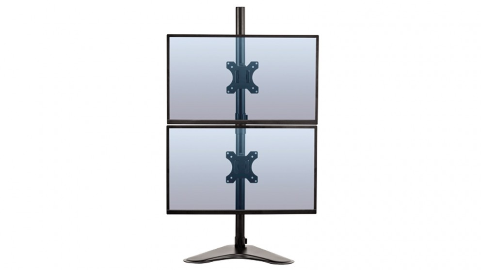Fellowes Professional Series Freestanding Dual Stacking Monitor Mount