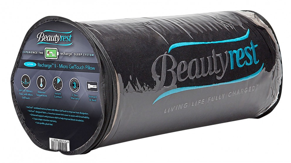 Beautyrest Recharge II Micro GelTouch Contour Pillow