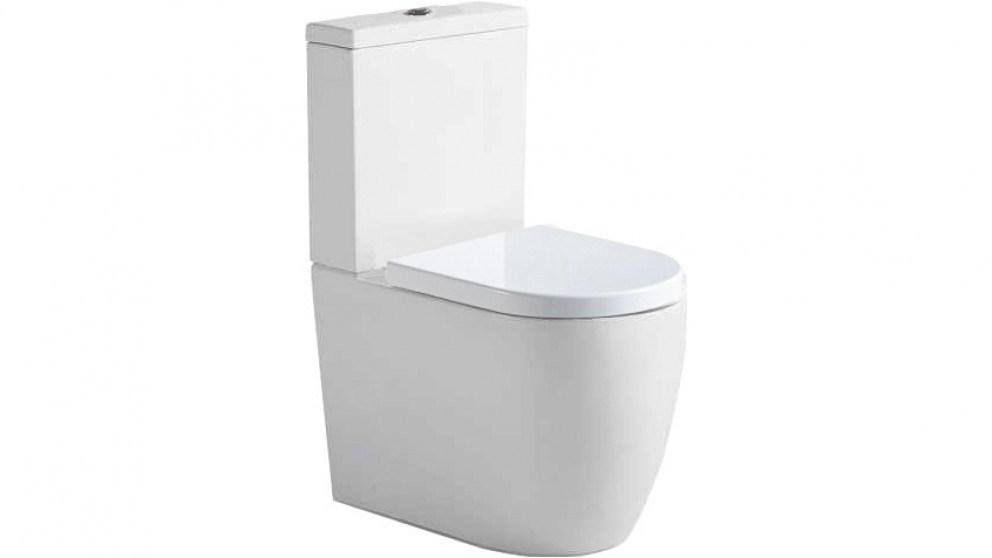Argent Grace Hygenic Flush Back to Wall Toilet Suite