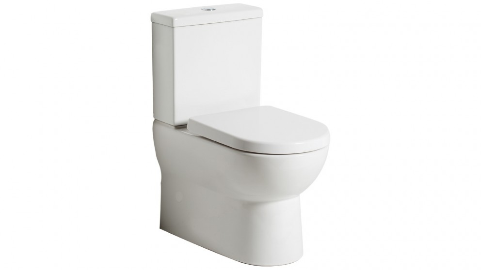 Argent Pace Back to Wall Toilet Suite with Bottom Water Entry