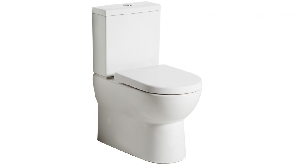 Argent Pace Back to Wall Toilet Suite with Rear Water Entry