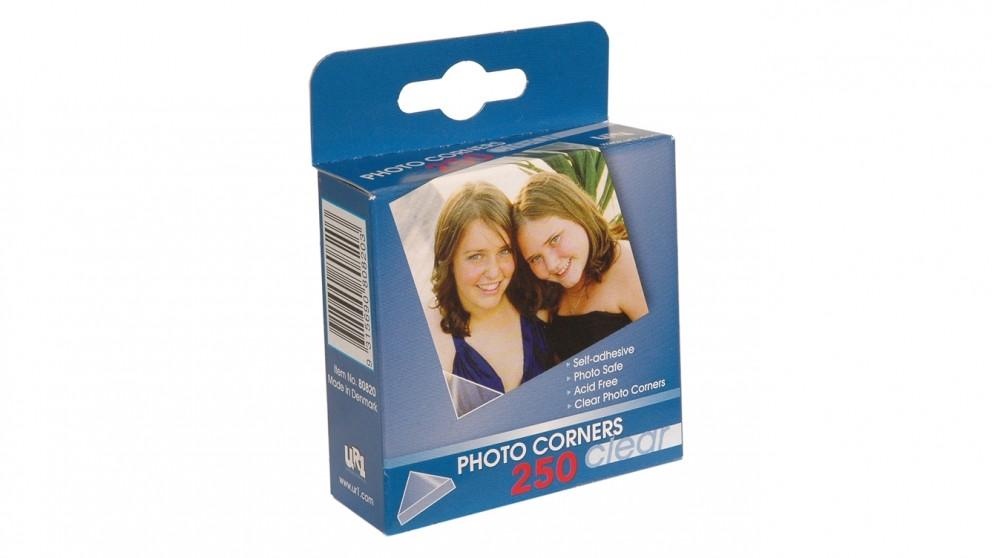 Photo Corners 250 Pack Clear
