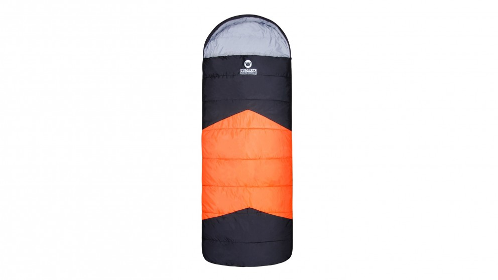 Wildtrak Bremer Jumbo Hooded Sleeping Bag - 0 to -5c