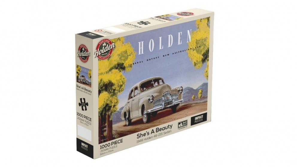Impact Puzzle Holden She's a Beauty Puzzle 1,000 Pieces