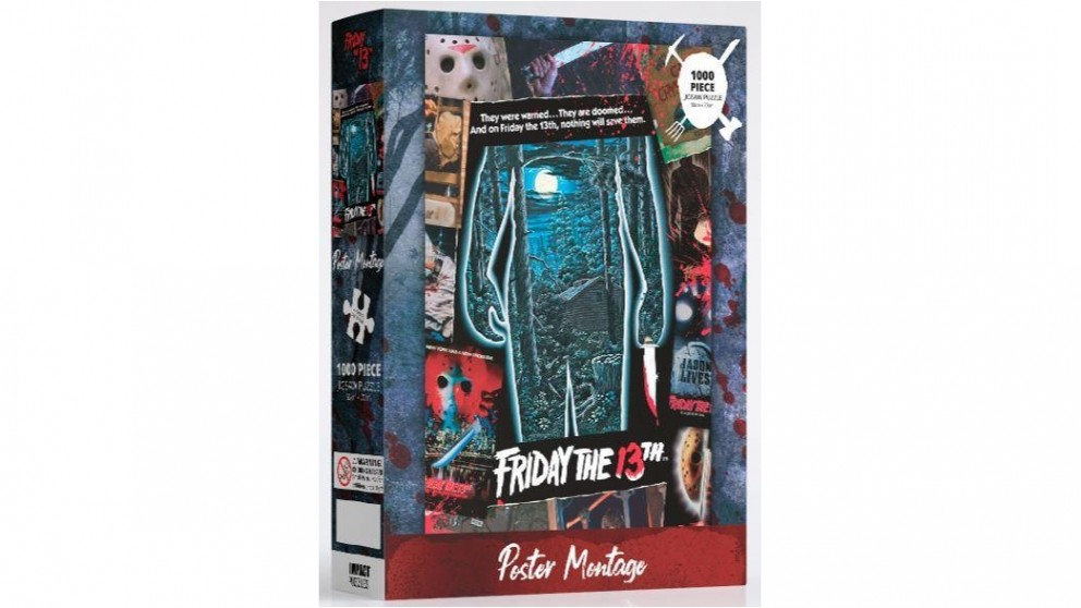 Impact Puzzle Friday The 13th Puzzle 1,000 Pieces