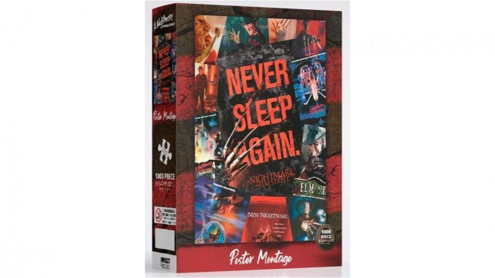 Impact Puzzle Nightmare On Elm Street  Movie Art Puzzle 1,000 Pieces
