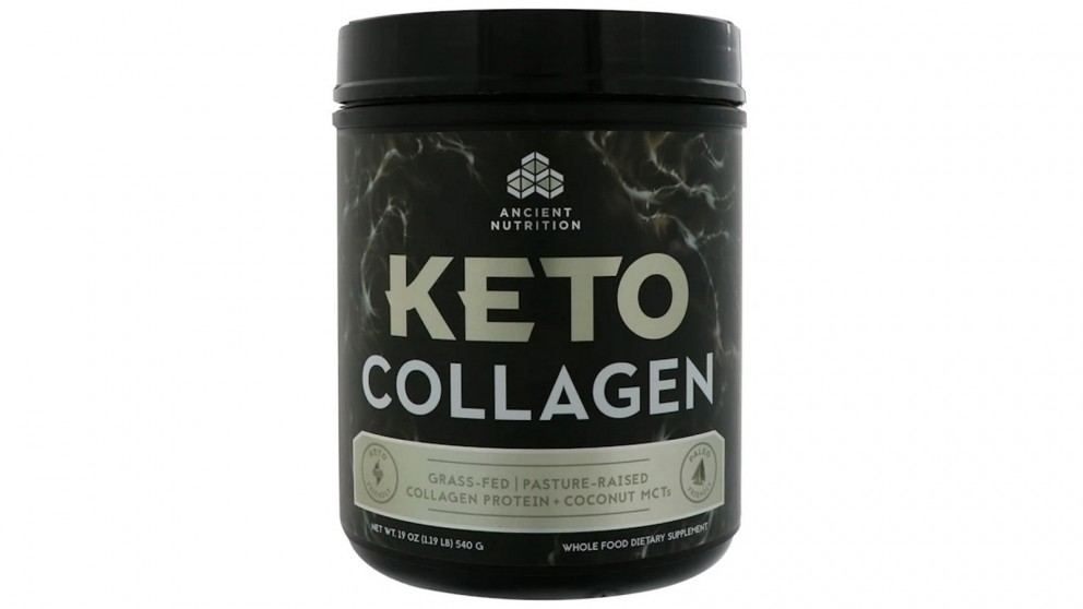 Dr. Axe Keto Collagen Protein + Coconut MCTs
