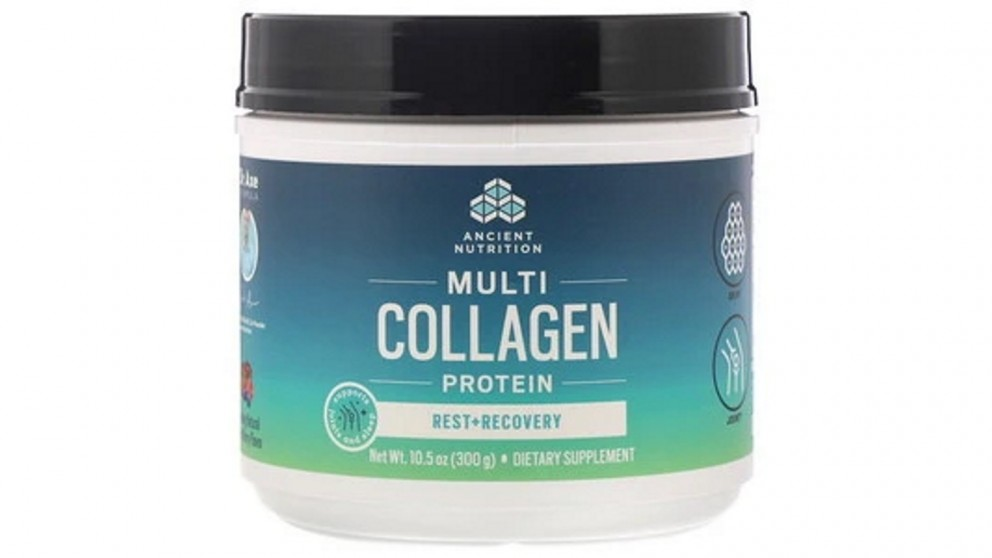Dr. Axe Multi Collagen Protein Natural Mixed Berry - 300g