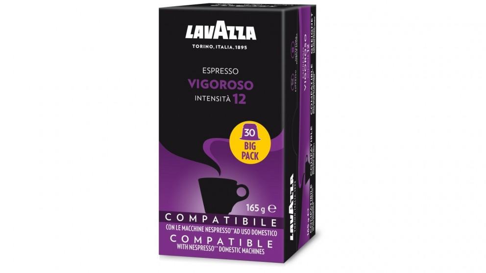 Lavazza Vigoroso Espresso Capsules - 30 Pack