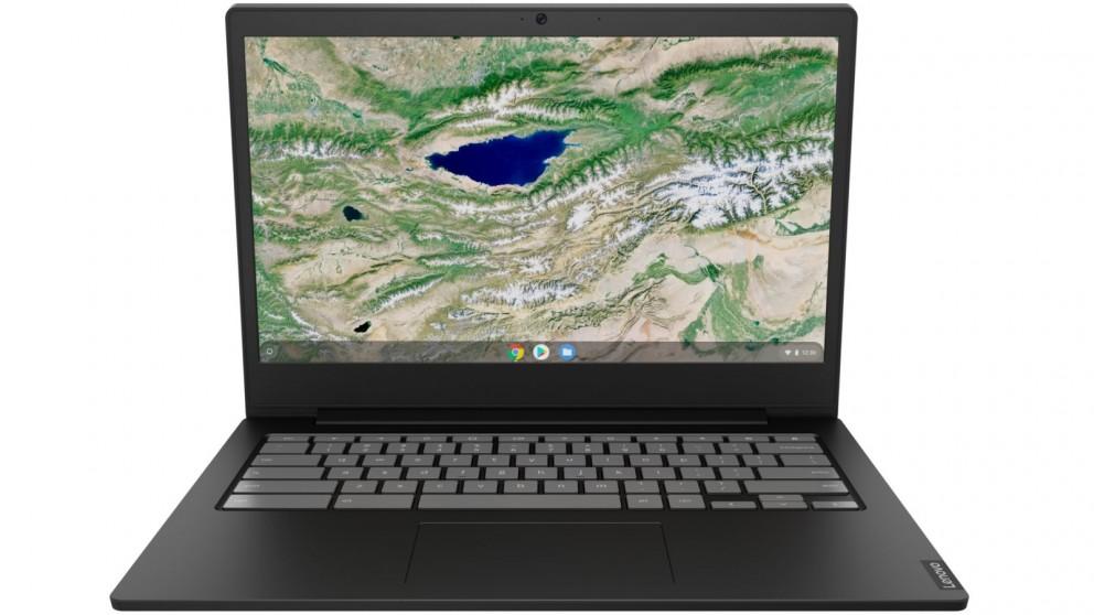 Lenovo Chromebook S340 14-inch Celeron N4000/4GB/64GB eMMC Laptop - Onyx Black