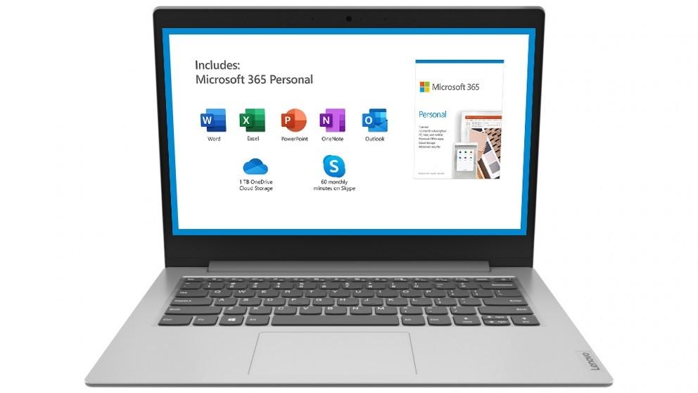 Lenovo Ideapad Slim 1 11.6-inch Celeron-N4020/4GB/64GB eMMC Laptop