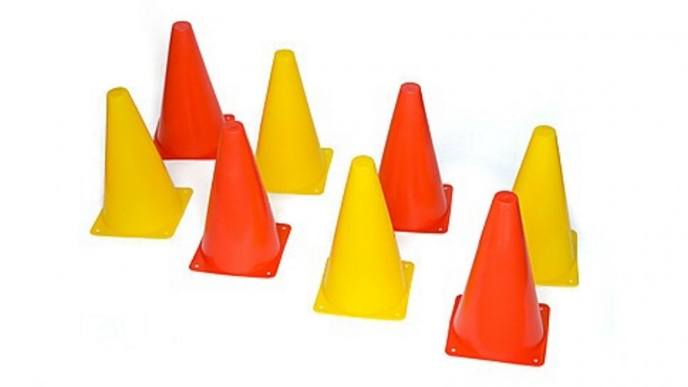 230mm Training Cones Set Witches Hat Football Soccer Rugby Traffic