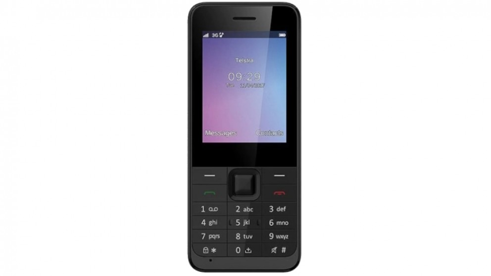 Telstra Lite Pre-Paid Phone - Black