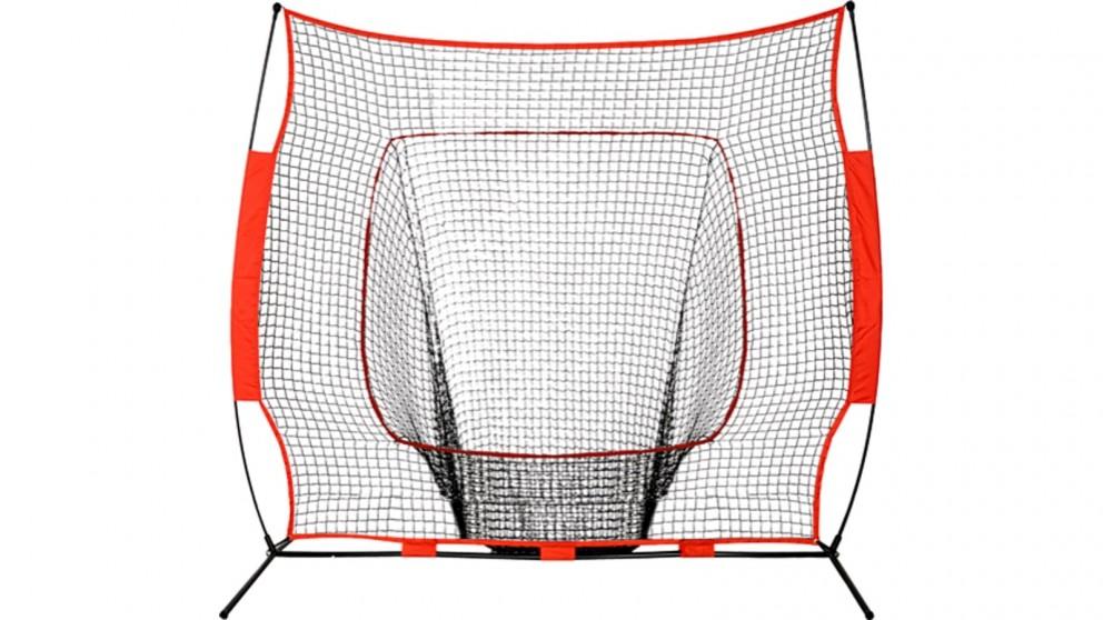 Portable Baseball Training Net Stand  for Softball Practice Sports Tennis