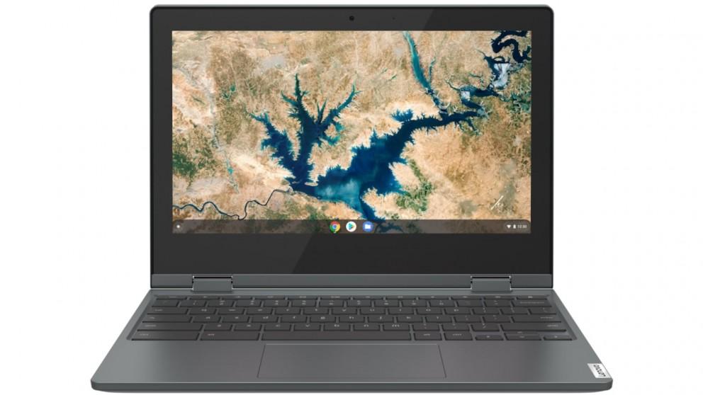 Lenovo Ideapad Flex 3i Chromebook 11.6-inch Celeron-N4020/4GB/64GB eMMC 2 in 1 Device - Abyss Blue