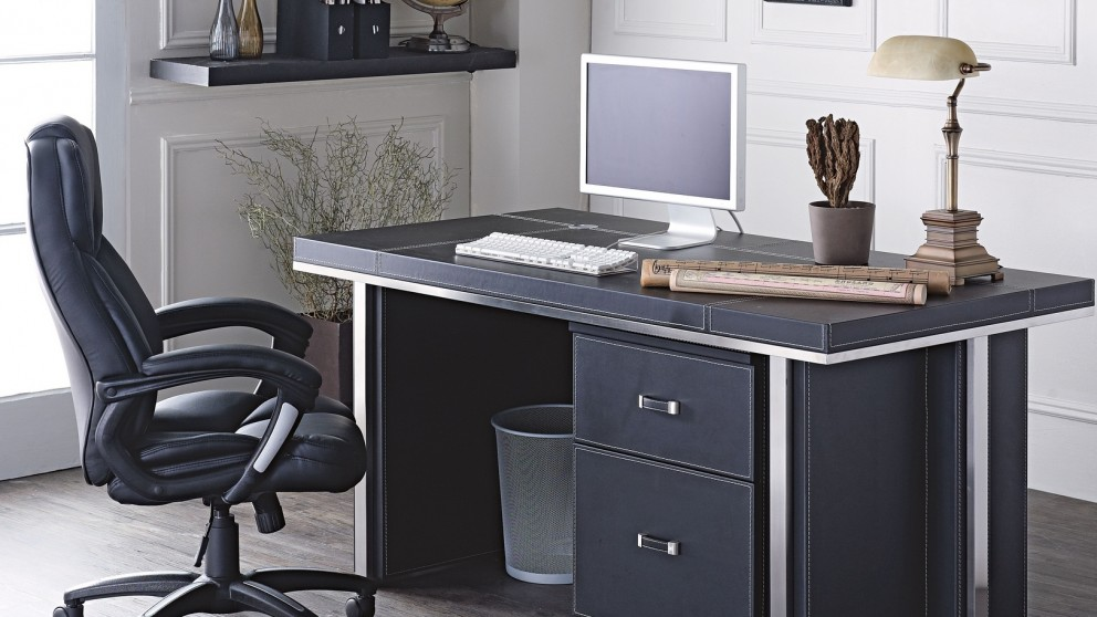 Brighton Desk Set Desks Suites Home Office Furniture Outdoor Bbqs Harvey Norman