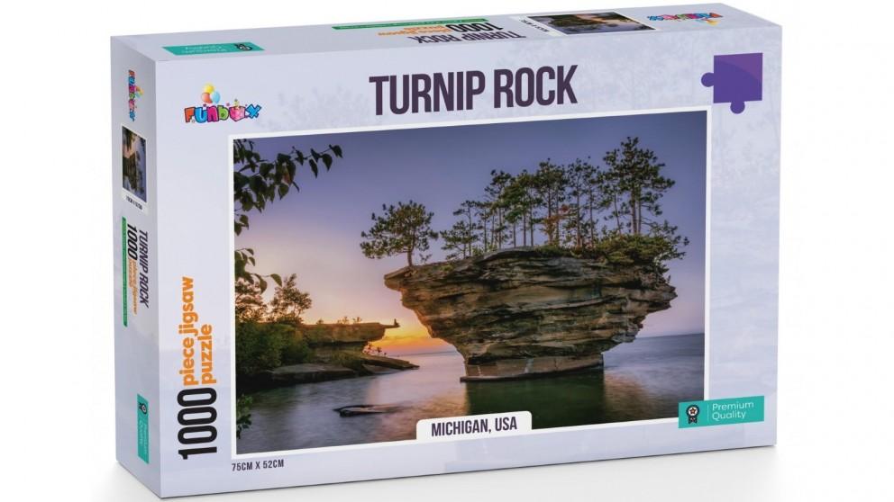 Funbox Turnip Rock Michigan USA Jigsaw Puzzle 1000 Pieces