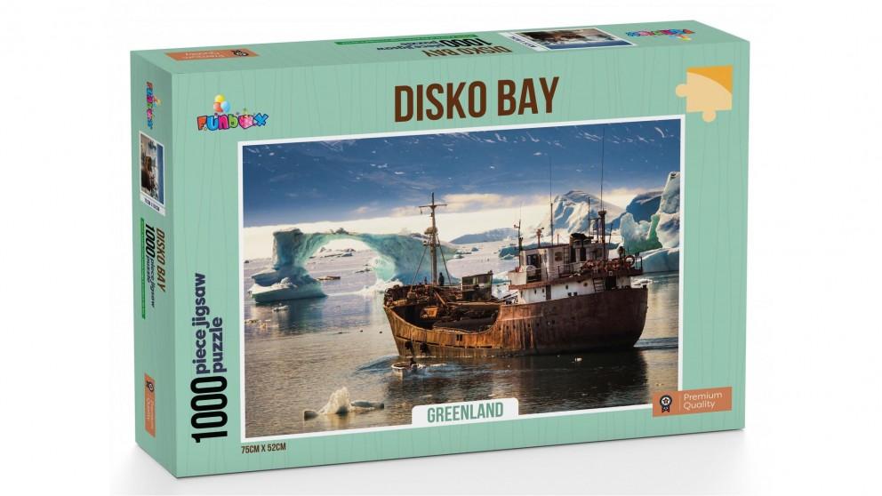 Funbox Disko Bay Greenland 1,000 Piece Jigsaw Puzzle