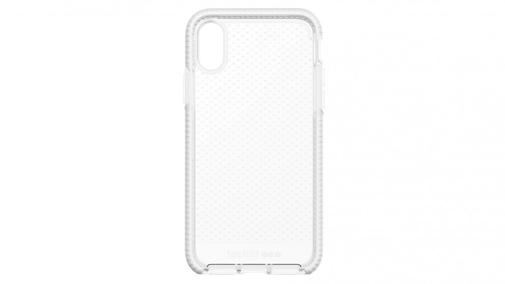 best service 1893a c5e8c Tech21 Evo Check Case for iPhone X - Clear White