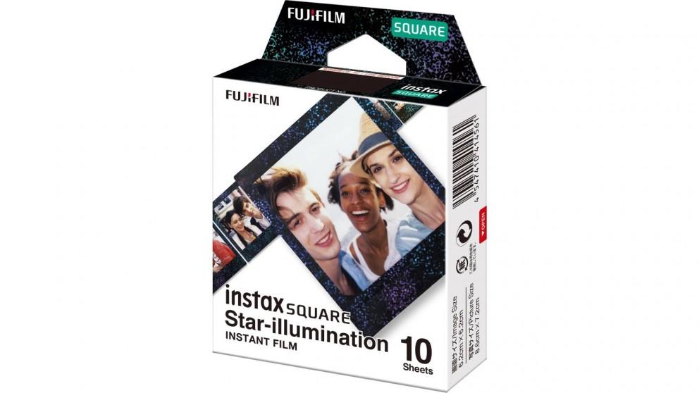 Instax SQUARE 10 Sheets Instant Film - Star-illumination