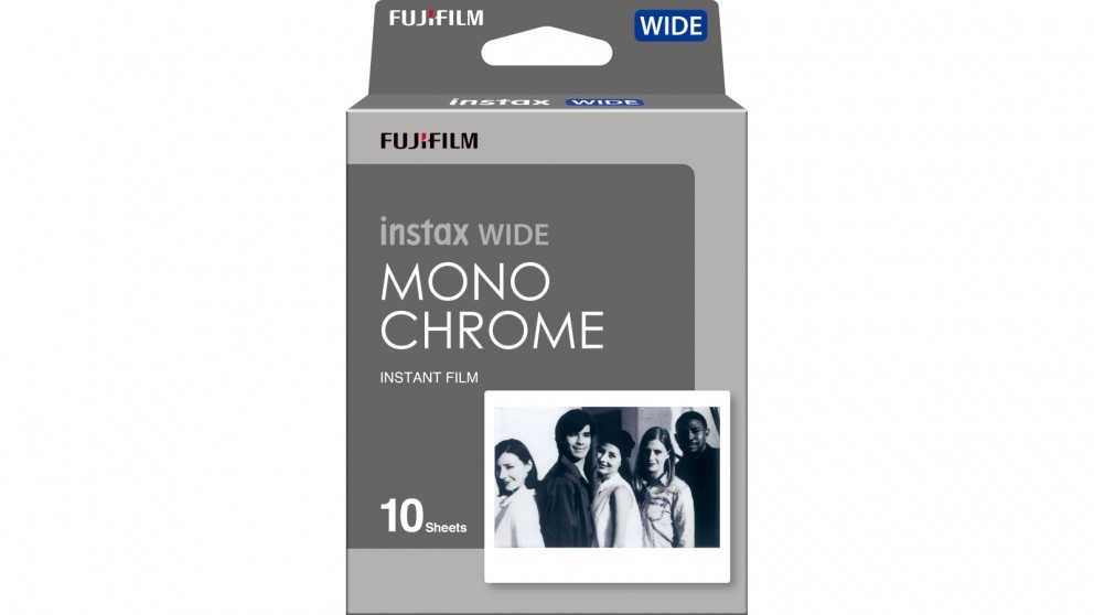 Instax Wide 10 Pack Instant Film - Monochrome