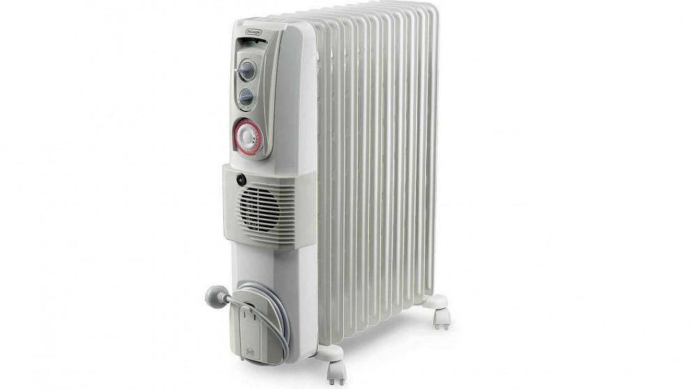 DeLonghi 2400W Oil Column Heater With Fan