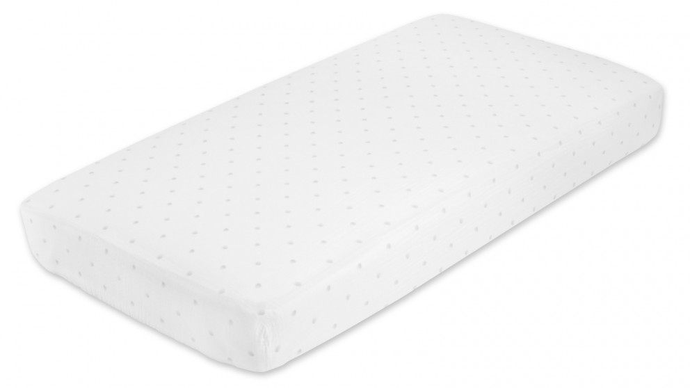 Aden+Anais Grey Water Dot Classic Cot Fitted Sheet