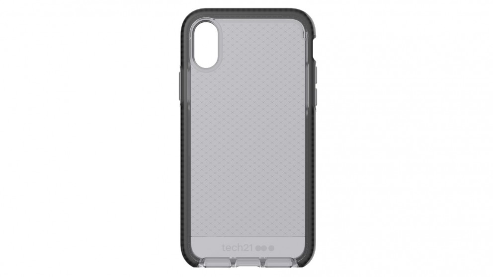 separation shoes 6b134 5d82f Tech21 Evo Check Case for iPhone X - Smokey Black