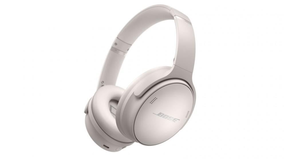 Bose QuietComfort 45 Wireless Noise Cancelling Headphones - White Smoke
