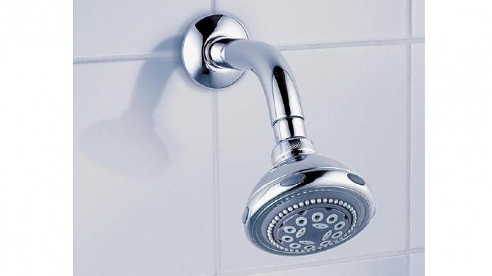 Buy Dorf Nutra Fixed Wall Shower - Chrome | Harvey Norman AU