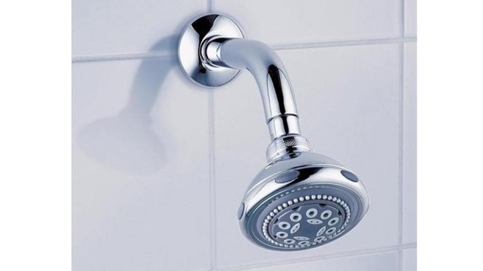 Dorf Nutra Fixed Wall Shower - Chrome