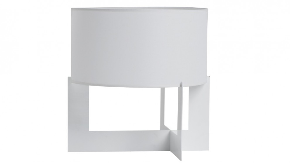 Tyagi White Bedside Lamp