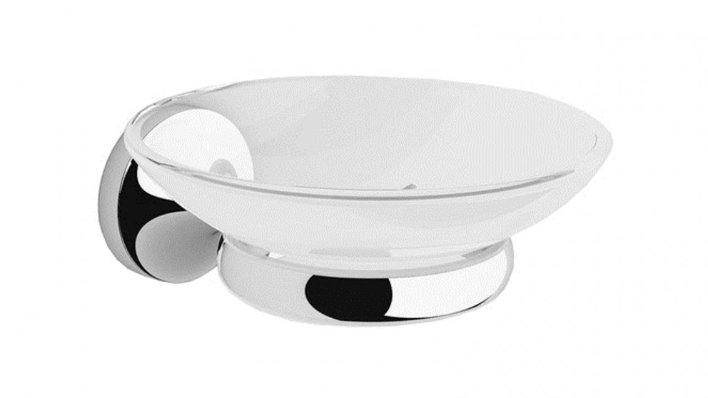Dorf Kip Soap Dish - Chrome
