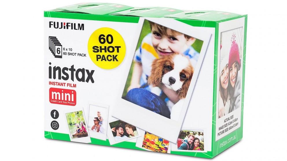 Instax Mini 60 Sheets Instant Film - White