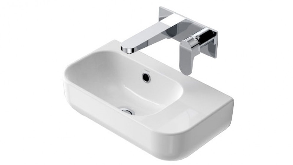 Caroma Luna 450 Wall Hand Basin with No Tap Hole