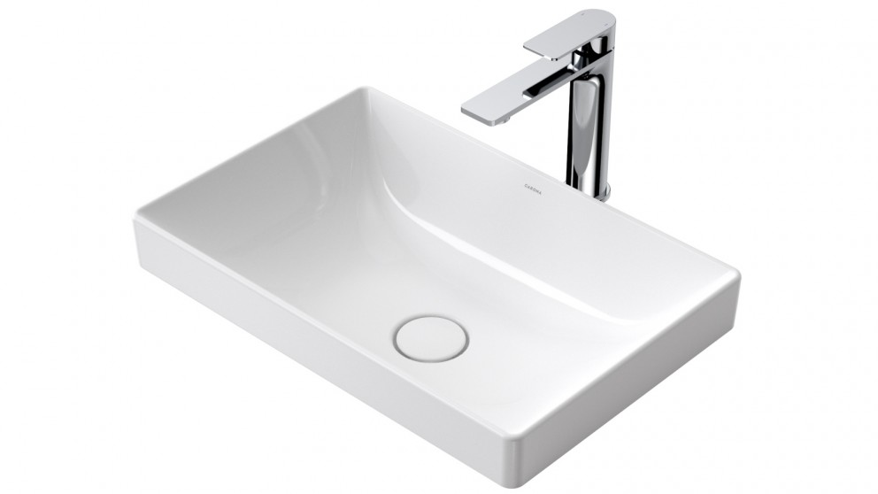 Caroma Urbane II 500mm Inset Vanity Basin with No Tap Landing