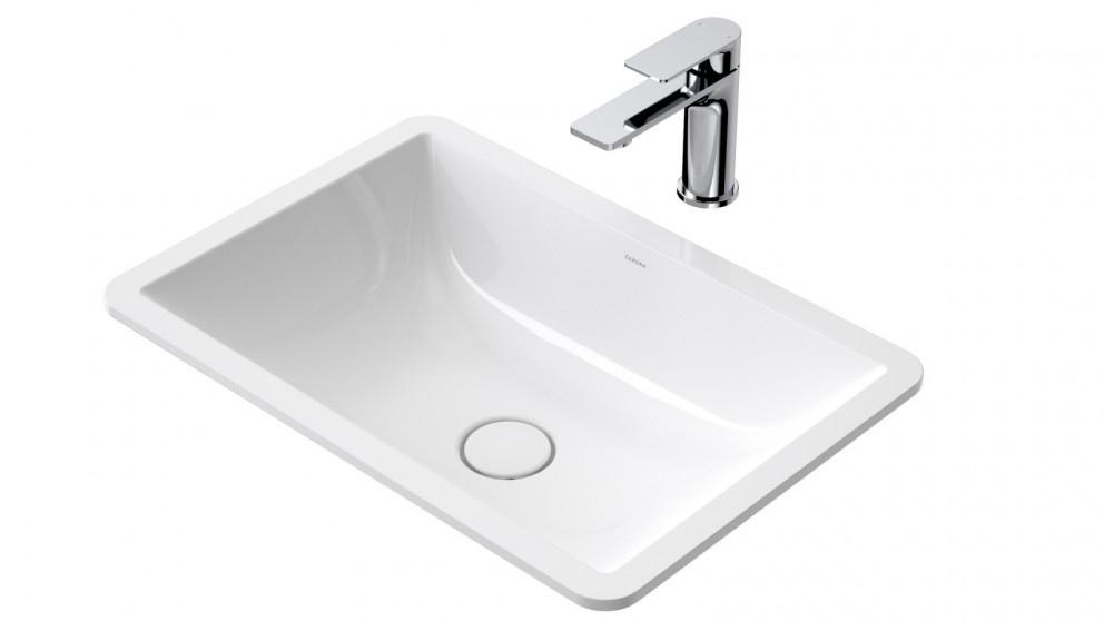 Caroma Urbane II Under Counter Vanity Basin with No Tap Hole