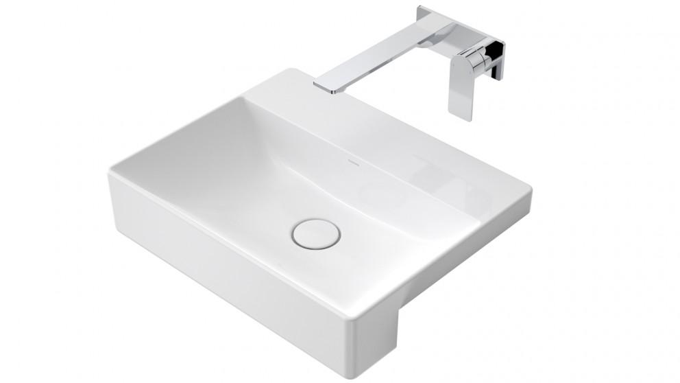Caroma Urbane II Ceramic Semi Recessed Vanity Basin - No Tap Hole