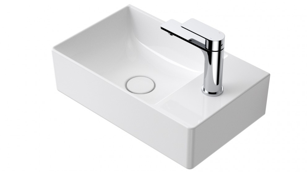 Caroma Urbane II Ceramic Hand Wall Basin with 1 Tap Hole