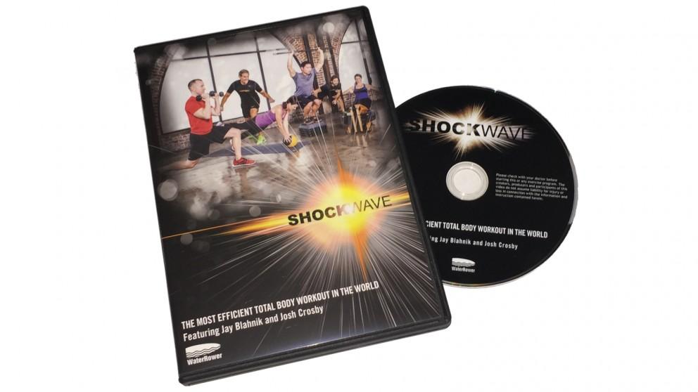 WaterRower Shockwave Workout DVD