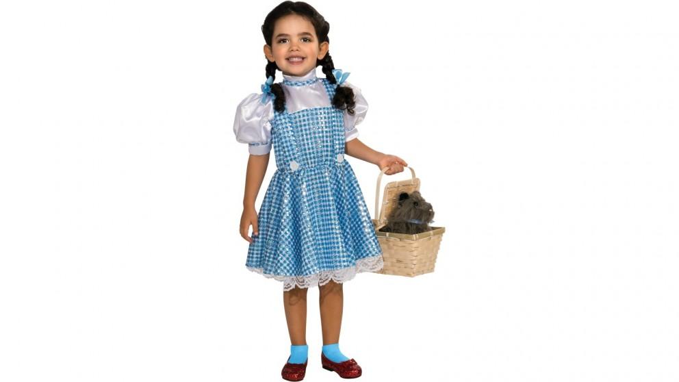 Dorothy Sequin Dress Costume for Toddler