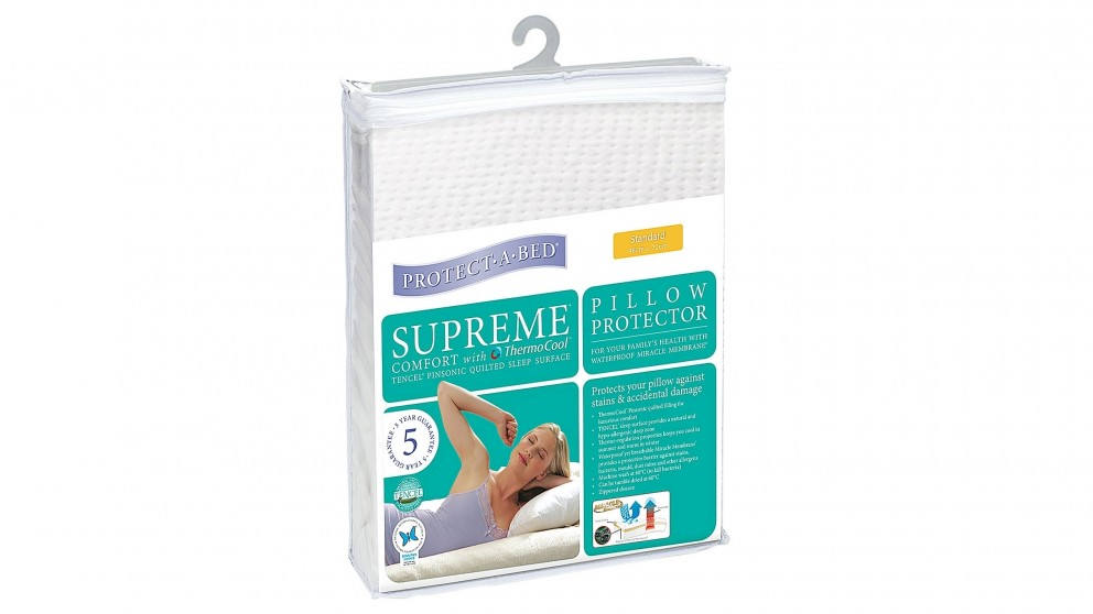 Protect A Bed Supreme Tencel Standard Waterproof Pillow Protector Twin Pack