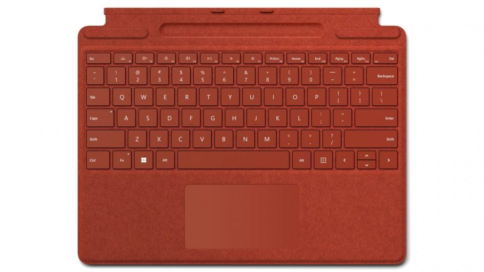 Microsoft Surface Pro Signature Keyboard - Poppy Red
