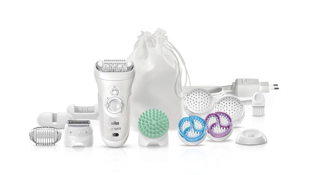 Braun Silk-Epil 9 Skin Spa 9-9961V Wet & Dry Epilator Beauty Set