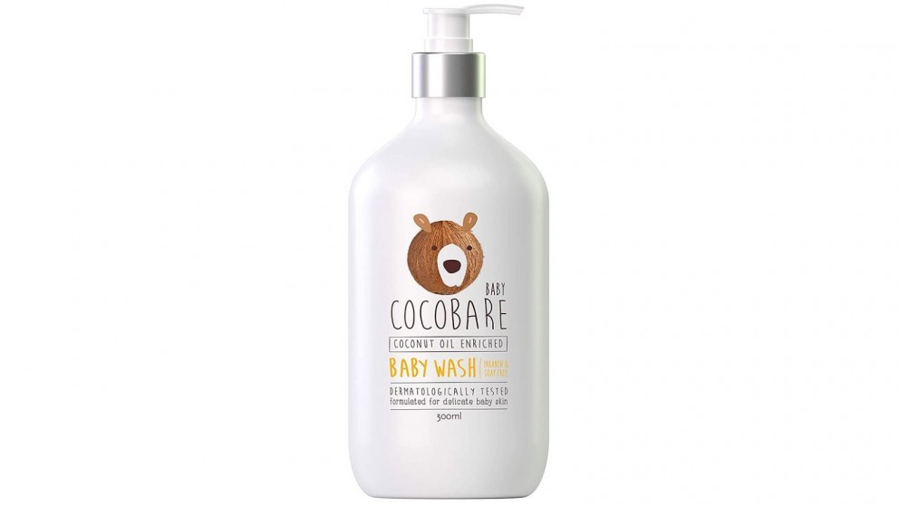 Baby Cocobare 300ml Coconut Oil Enriched Baby Wash